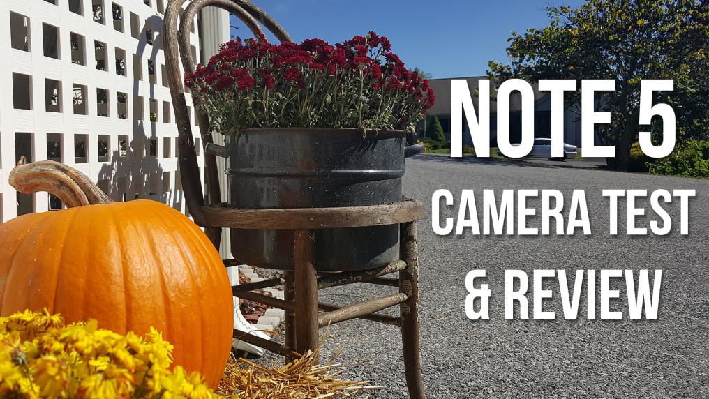 note 5 camera